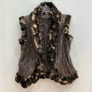 Jackets & Blazers - LINDI reversible vest